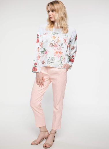 DeFacto Klasik Pantolon Pembe